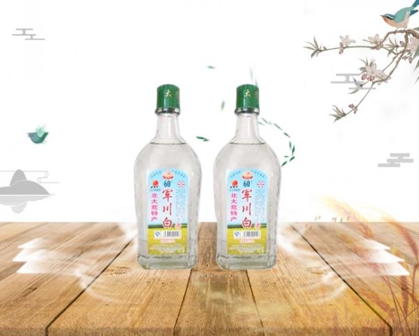 方瓶军川白酒60度