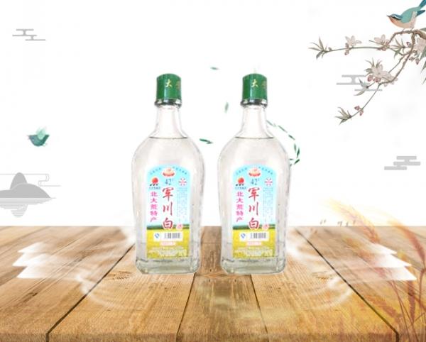 方瓶军川白酒42度(1×12)